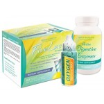 GHT Fivelac & Oxygen Elements Max & Active Digestive Enzymes Anti-Candida Kit