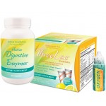 GHT Threelac, Oxygen Elements Max & Active Digestive Enzymes Anti-Candida and Digestive Health Kit