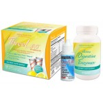 GHT Threelac, OxyLift & Active Digestive Enzymes - Anti Candida & Digestive Health Kit