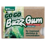 GoGo Guarana Buzz Gum 10 chiclets