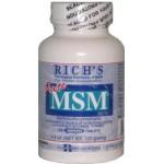 MSM - 125 tablets - 1000mg