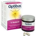 Saccharomyces boulardii (formerly OptiBac Probiotics For bowel calm) 40 caps