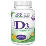 Vitamin D3 5000iu with Vitamin K2 - 90 tablets