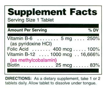 B12 Ingredients