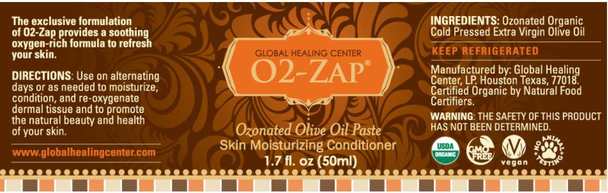 O2-Zap (Ozonated Olive Oil 50ml)