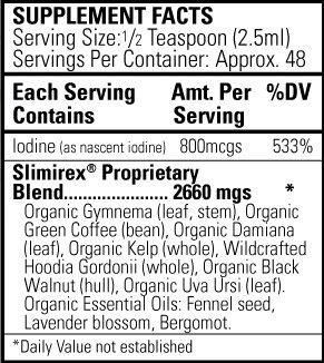 Ingredients Slimirex